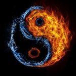 colorized yin/yang symbol