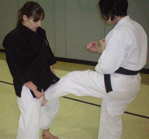karate groin kick