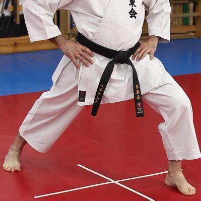 karate front stance zenkutsu dachi