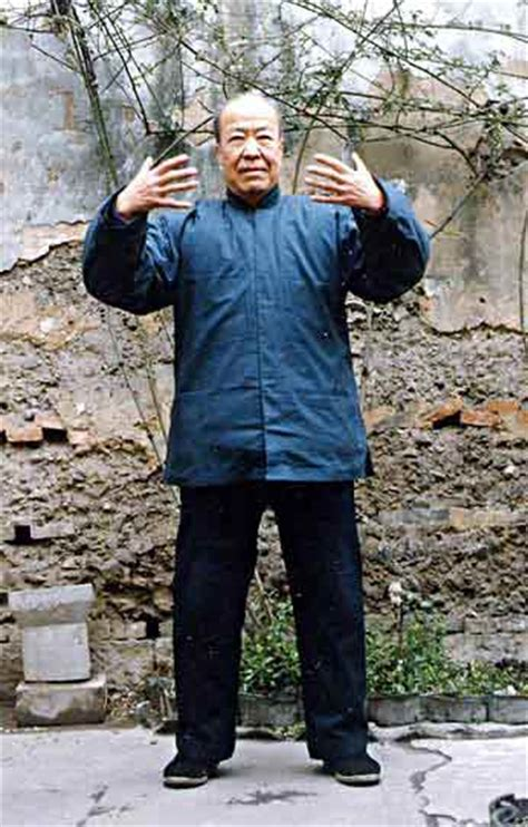 man standing meditation for qi development