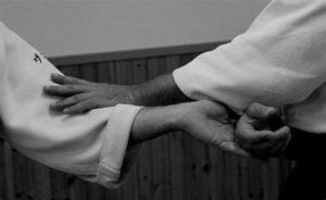Image of soft block in goju-ryu training
